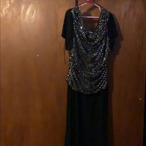 Shiny Silver/grey dress